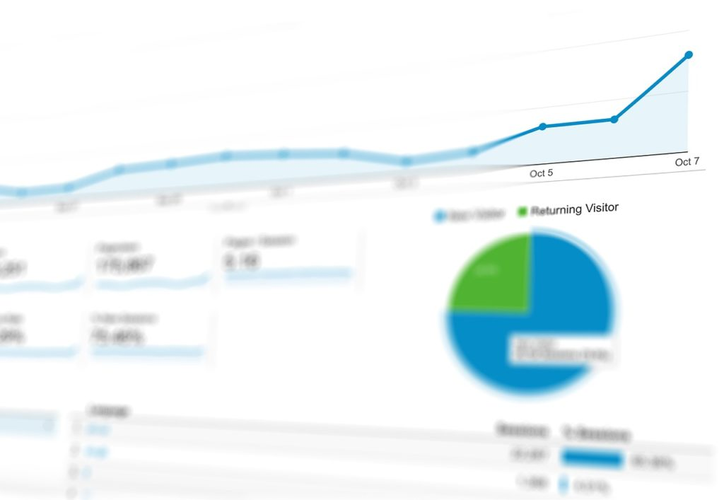 google analytics - new visitors